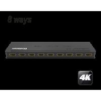 4K HDMI razdelilnik 1x8