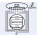 Preklopnik za 8 LNB-jev + zemeljski vhod (združilnik)